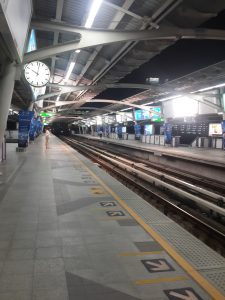 BTS (Sky Train Station) di Bangkok